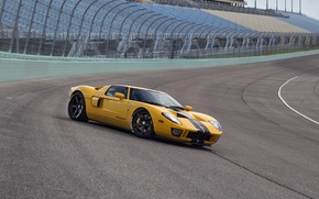 Picture Ford GT, track, HRE, RS105