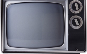 Picture TV, old, screen, tube