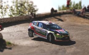 Picture Ford, Auto, Sport, Turn, Race, Asphalt, WRC, Rally, Rally, Fiesta