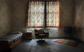 Picture room, furniture, window