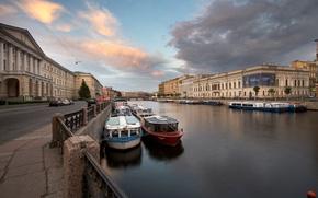 Picture river, Saint Petersburg, Fontanka