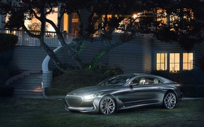 Picture car, Concept, Hyundai, Coupe, Vision G