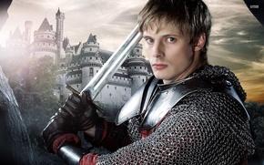 Picture magic, king Arthur, Arthur, Merlin, Arthur, King Arthur, Bradley James, Merlin, Bradley James