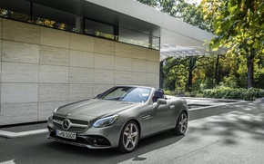 Picture Mercedes-Benz, convertible, Mercedes, AMG, R172, SLC-Class