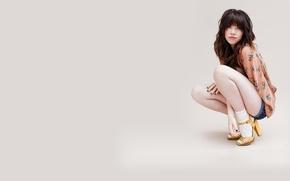 Picture girl, singer, Carly Rae Jepsen, Carly RAE Jepsen