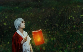 Picture lantern, guy, cosplay, Crimson-Shad