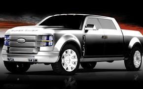 Picture ford, pickup, F-250, Super-Chief