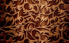 Wallpaper pattern, twigs, texture, chocolate color, twigs, pattern, the texture of the chocolate color