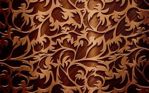 Picture pattern, texture, pattern, twigs, twigs, chocolate color, the texture of the chocolate color