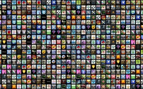 Picture game, icons, icons, program