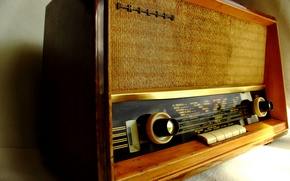 Picture radio, receiver, background