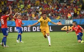 Picture Sport, Australia, Football, Brazil, Football, Australia, Sport, Player, Brasil, FIFA, FIFA, Player, Tim Cahill, World …