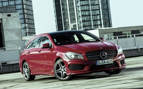 Picture 2015, Mercedes-Benz, Sports Package, AMG, Orange Art, 250, Shooting Brake, Mercedes, 4MATIC, CLA, X117, AMG, ...