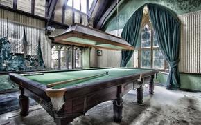 Picture table, sport, Billiards