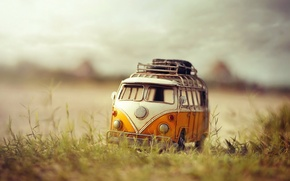 Picture macro, background, toy, bus