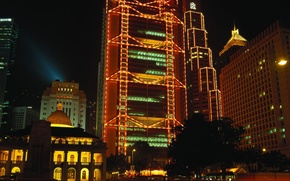 Picture The evening, Lights, China