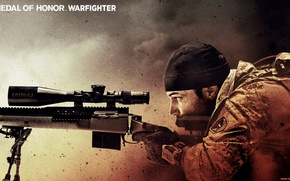 Picture sniper, sight, rifle, MoH, warfighter
