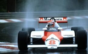 Picture McLaren, formula 1, formula one, 1983, Belgien, Lauda