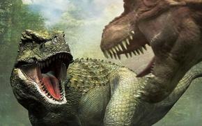 Picture jurassic world, teranozavr, dinozavr