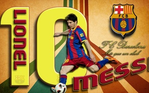 Picture wallpaper, sport, football, Lionel Messi, player, FC Barcelona, My As a Club, More Then a …