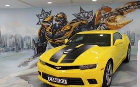 Picture machine, transformers, Chevrolet