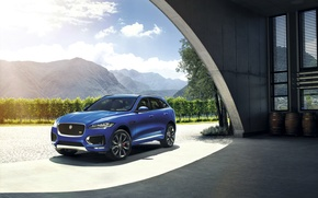 Wallpaper Jaguar, Jaguar, 2015, F-Pace S