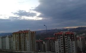 Picture the city, cloud, Dvor