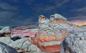 Picture Arizona, stars, Vermilion Cliffs National Monument