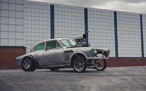 Picture volvo, Volvo, rat rod, dragster