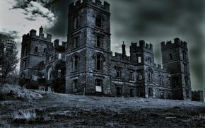 Picture house, castle, structure