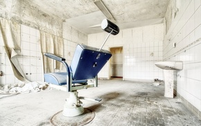 Picture interior, hospital, office