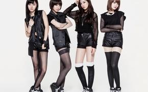 Picture music, girls, Asian girls, South Korea, Kpop, D-UNIT