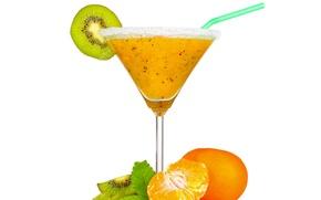 Picture kiwi, juice, mint, fresh, tangerines