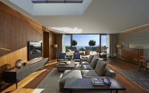 Picture pool, living room, suite, Bodrum