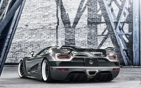 Picture back, supercar, Koenigsegg Agera, hypercar