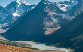 Picture Mountains, Belukha, The Altai Mountains, Akkem