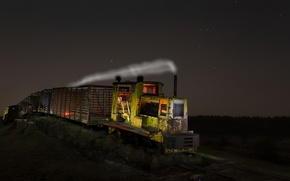 Picture Lights, Night, Ghost Train
