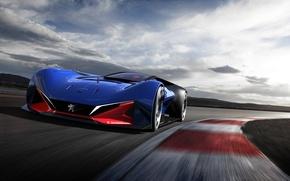 Picture Concept, the concept, Peugeot, supercar, Peugeot, L500