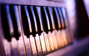 Picture keys, tool, piano, music