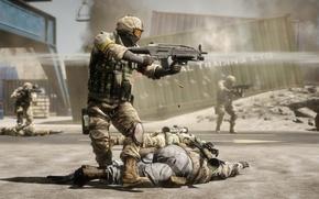Wallpaper Battlefield, Bad Company 2