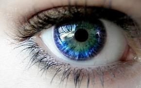 Wallpaper Eyelashes, The pupil, Eyes