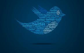 Picture flight, abstraction, bird, wings, bird, message, the website, Twitter, blog, Twitter