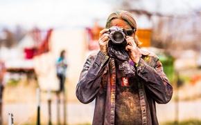 Wallpaper color, photographer, Festival of Colors
