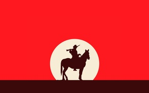 Picture Red, Horse, Red Dead Redemption, Western