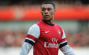 Picture England, Football, Arsenal, Football, Arsenal, Chamberlain, Alex-Oxclade Chamberlane, Gunner