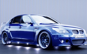 Picture blue, drives, hamann, Bmw