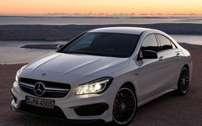 Picture auto, light, lights, Mercedes-Benz, AMG, CLA