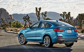 Picture mountains, desert, BMW, 2015, M40i