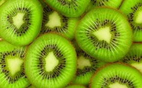 Picture kiwi, fruit, fresh, slices, fruits, kiwi, slice