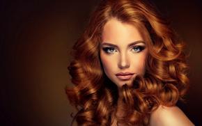 Wallpaper girl, face, woman, girl, woman, beautiful, lips, face, person